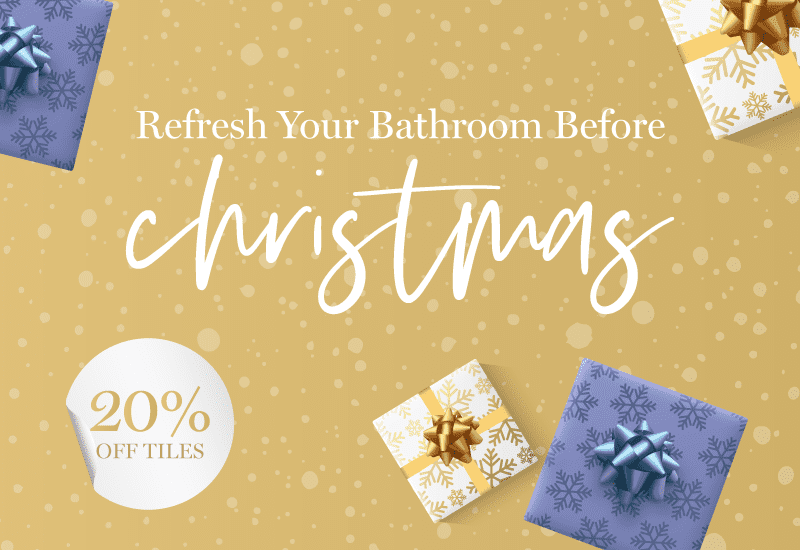 Refresh Your Bathroom Before Christmas