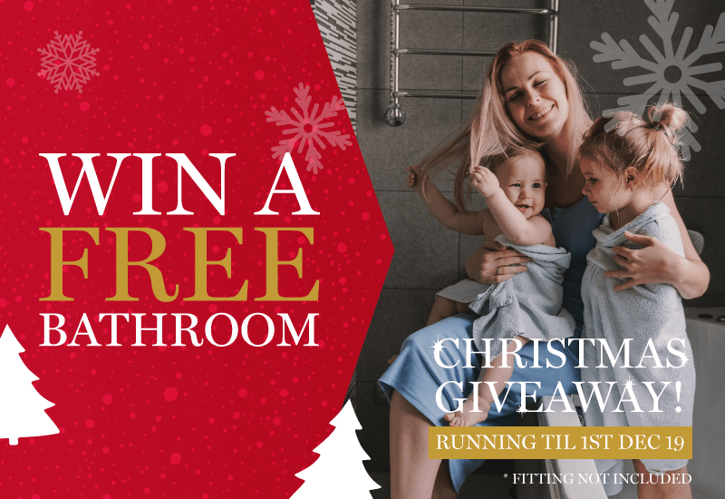 You could WIN the luxury Giavani bathroom for Christmas!
