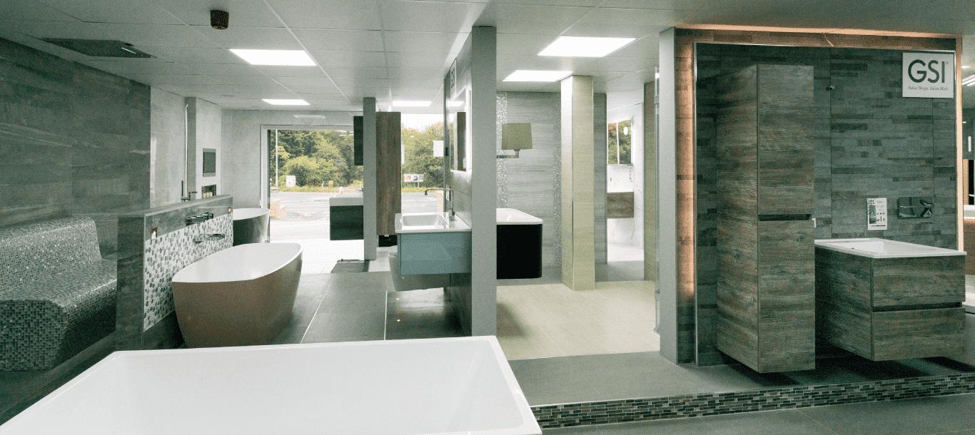 Expansive Bathroom Showroom