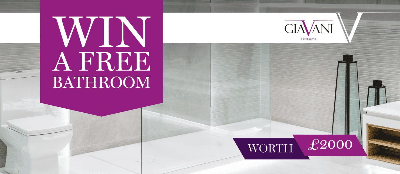 Win A Free Bathroom